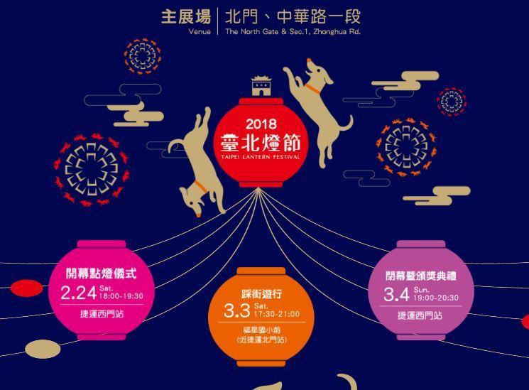 圖擷自2018台北燈節