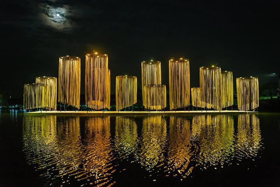 月津港燈節。 圖擷自月津港燈節 yuejin lantern festival