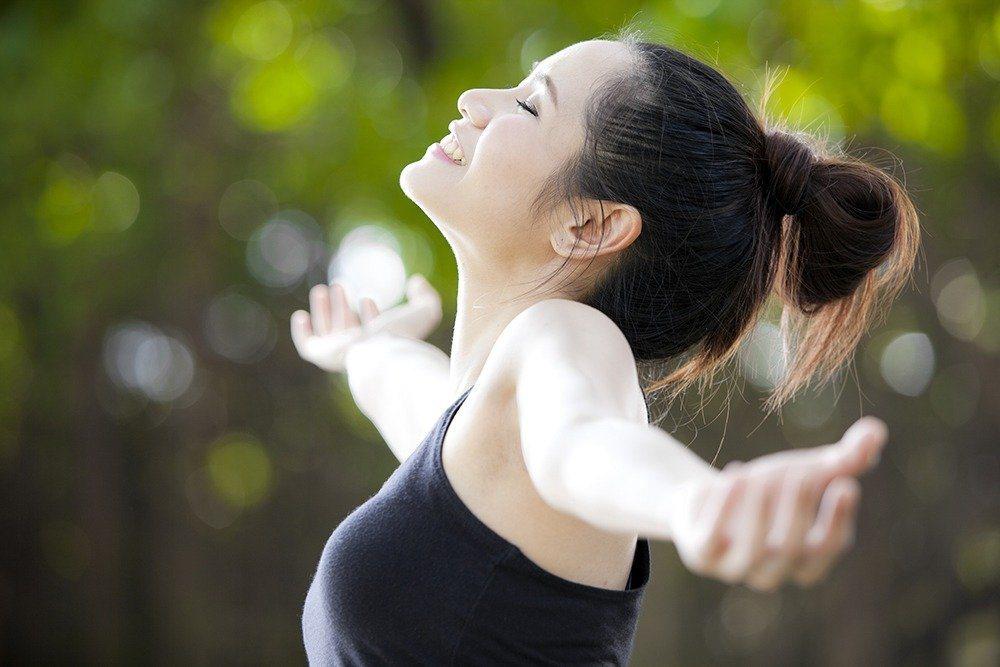 呼吸也與健康有關。ingimage示意圖
