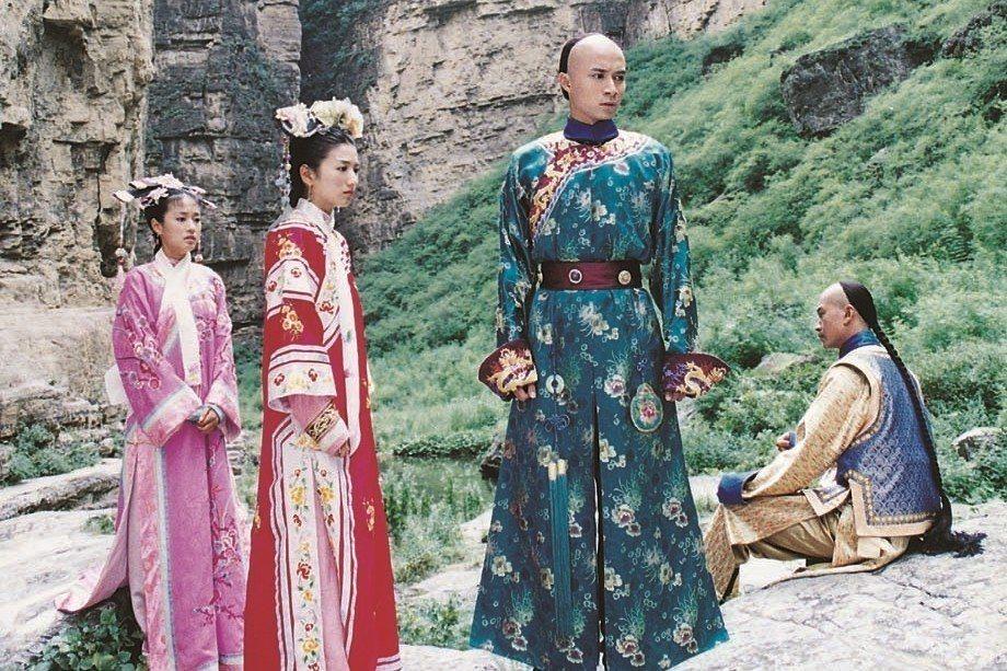 2003年瓊瑤劇《天上人間》劇照。 圖/聯合報系資料照