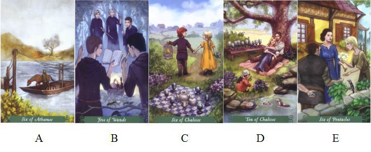 請憑直覺選擇一張牌。