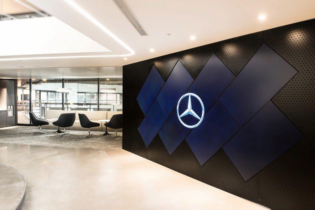 圖為台灣賓士辦公室。 Mecedes-Benz 台灣賓士提供