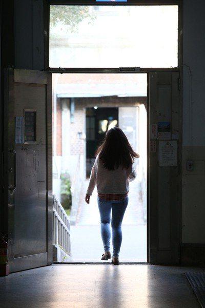 非當事人,圖為某台灣學生。聯合報系資料照/記者蘇健忠攝影