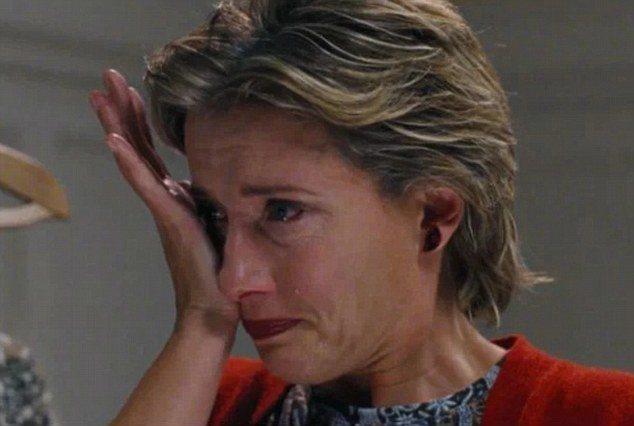 艾瑪湯普遜表示過去遭背叛,讓她在「愛是您,愛是我」這場哭戲演得特別真實。圖/擷自...