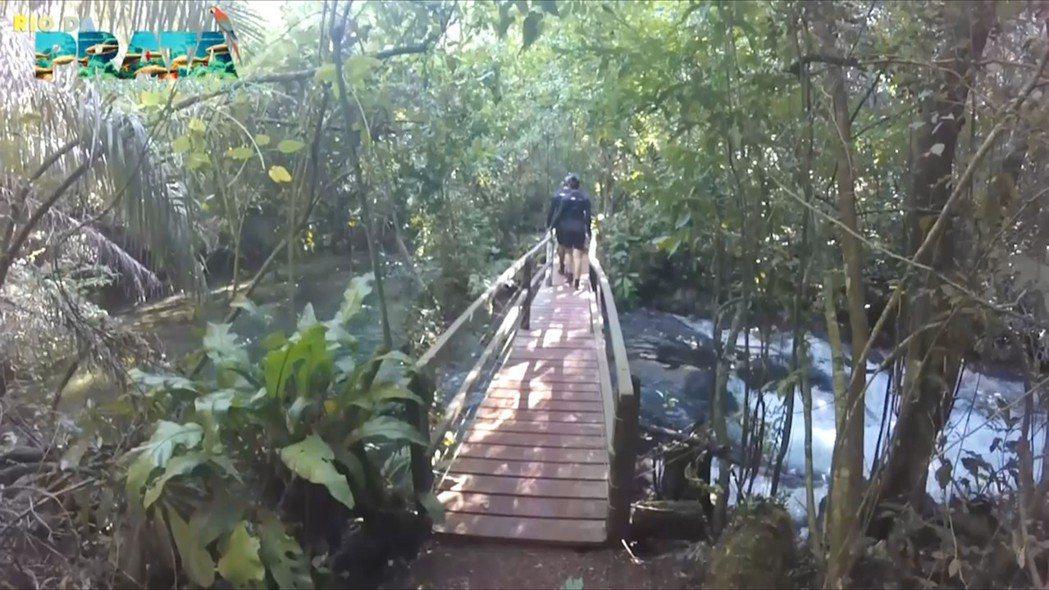 健行步道原本的樣子。圖片/Recanto Ecologico Rio da Pr...
