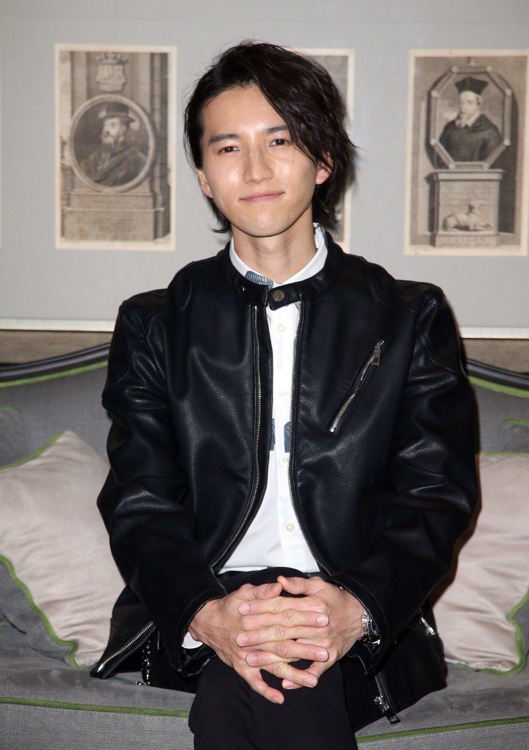 田口淳之介來台舉辦演唱會。記者陳瑞源/攝影