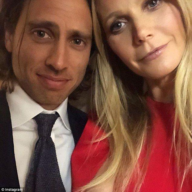 葛妮絲派楚與布萊德法契克已訂婚。圖/摘自Instagram