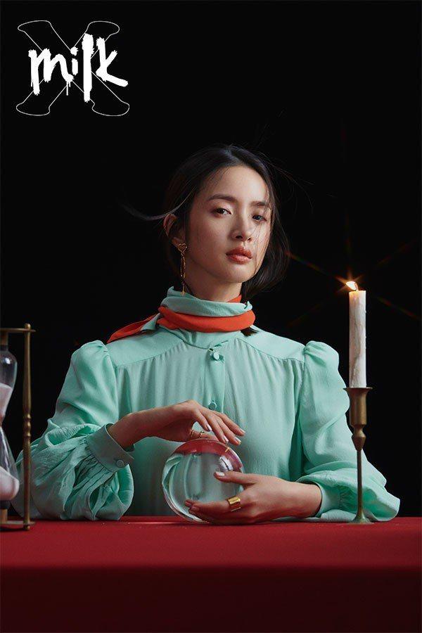 林依晨從演藝圈資優生到兩座金鐘視后,努力是她的代名詞。圖/《MilkX》提供