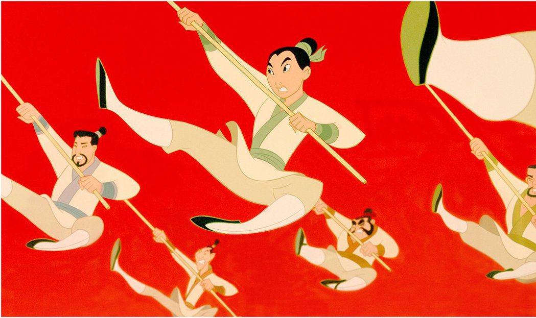 迪士尼動畫「花木蘭」曾在華人區造成轟動。圖/摘自imdb
