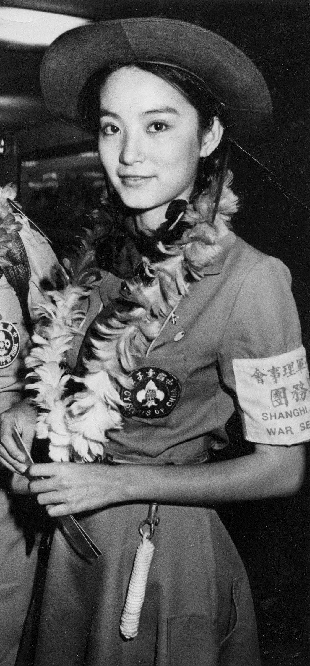 林青霞在「八百壯士」演女童星,在亞洲影展封后。圖/報系資料照片
