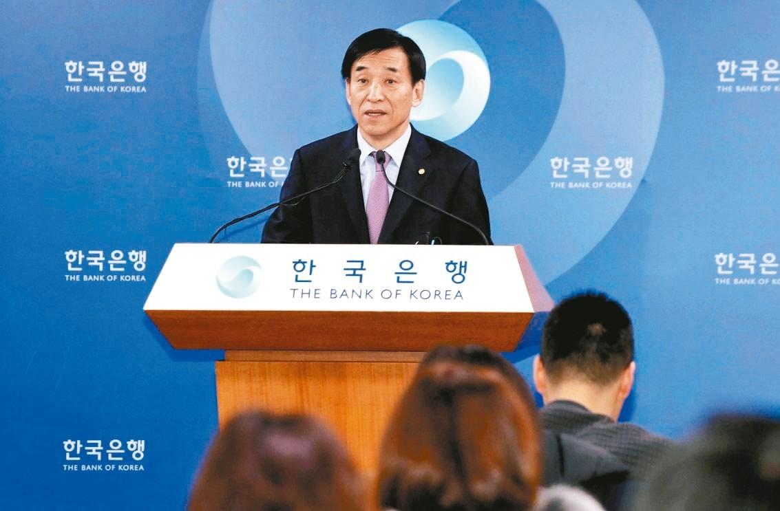 南韓央行總裁李柱烈。 路透