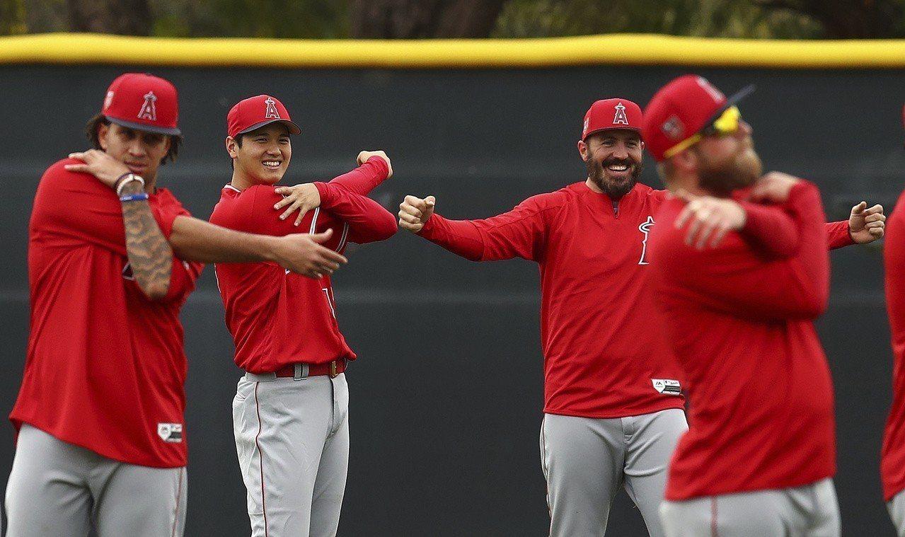 天使隊先發投手陣容人手多,就看能否不受傷。 美聯社