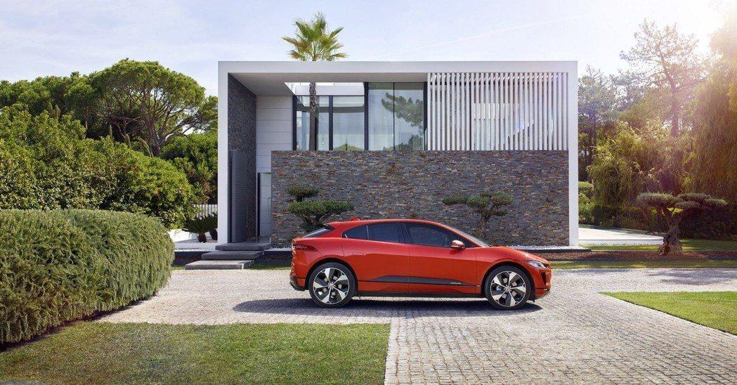 圖為Jaguar I-Pace。 摘自Jaguar