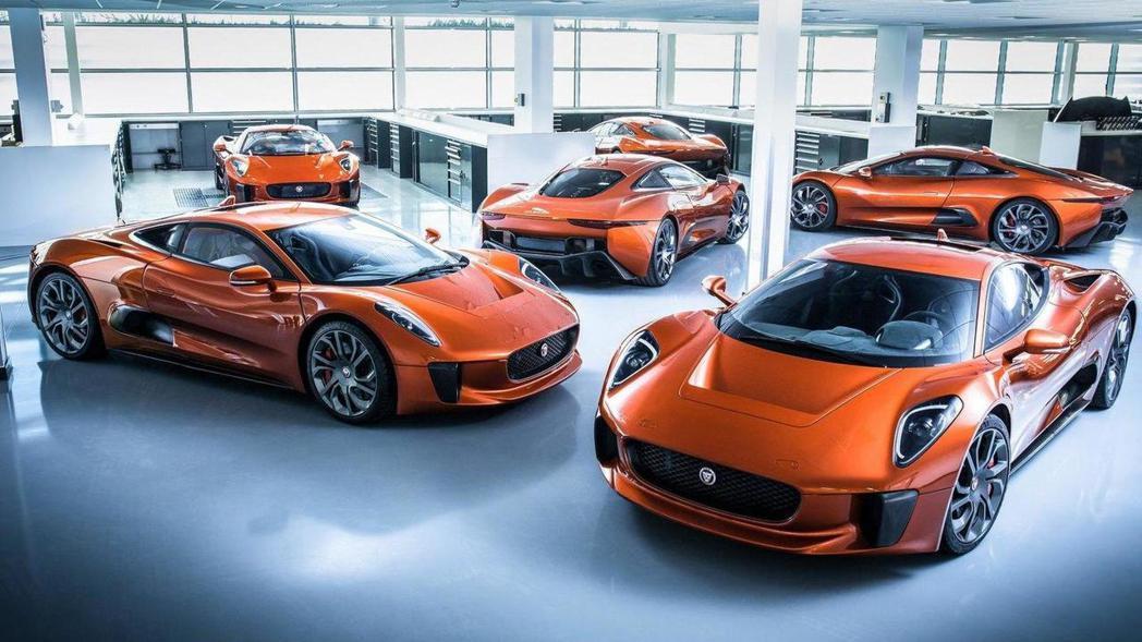 圖為Jaguar C-X75 Concept。 摘自Jaguar