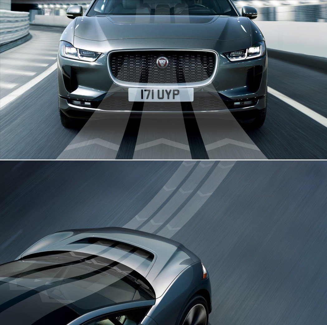 Jaguar I-Pace 擁有良好的空氣力學。 摘自Jaguar