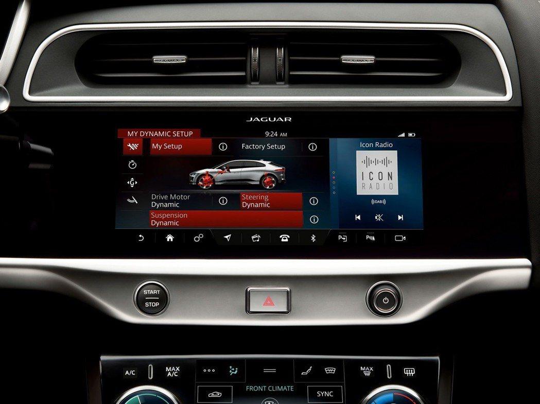 Jaguar I-Pace能夠藉由無線的方式,為車內的影音資訊系統進行更新。 摘...