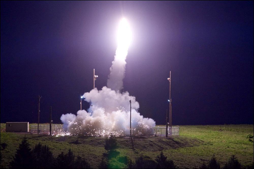 美國建立了遍布全球的飛彈防禦系統,而薩德系統去年首次安裝在美國本土以外的國家─南...