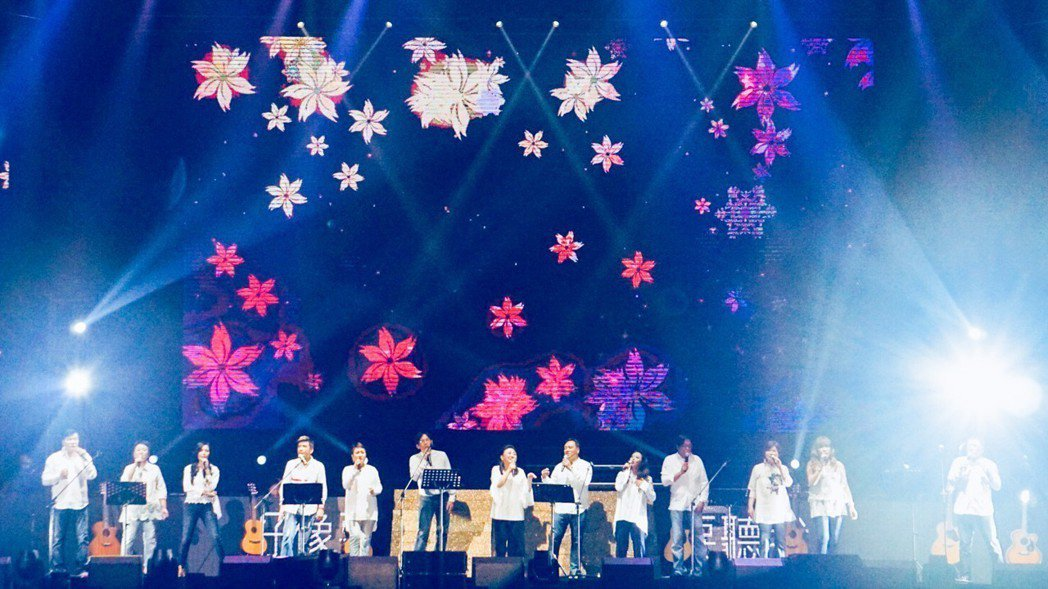 民歌演唱會集結14為歌手。圖/寬宏提供