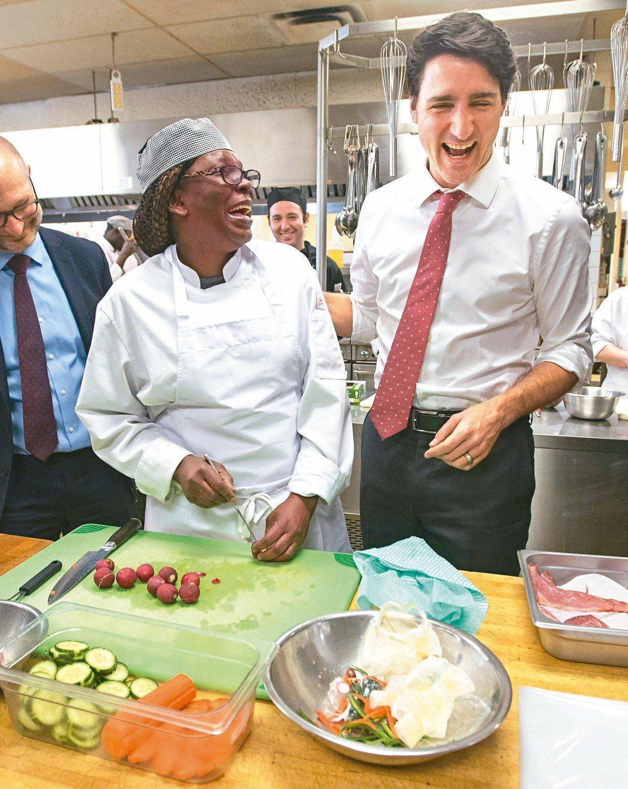加拿大總理杜魯多。 美聯社