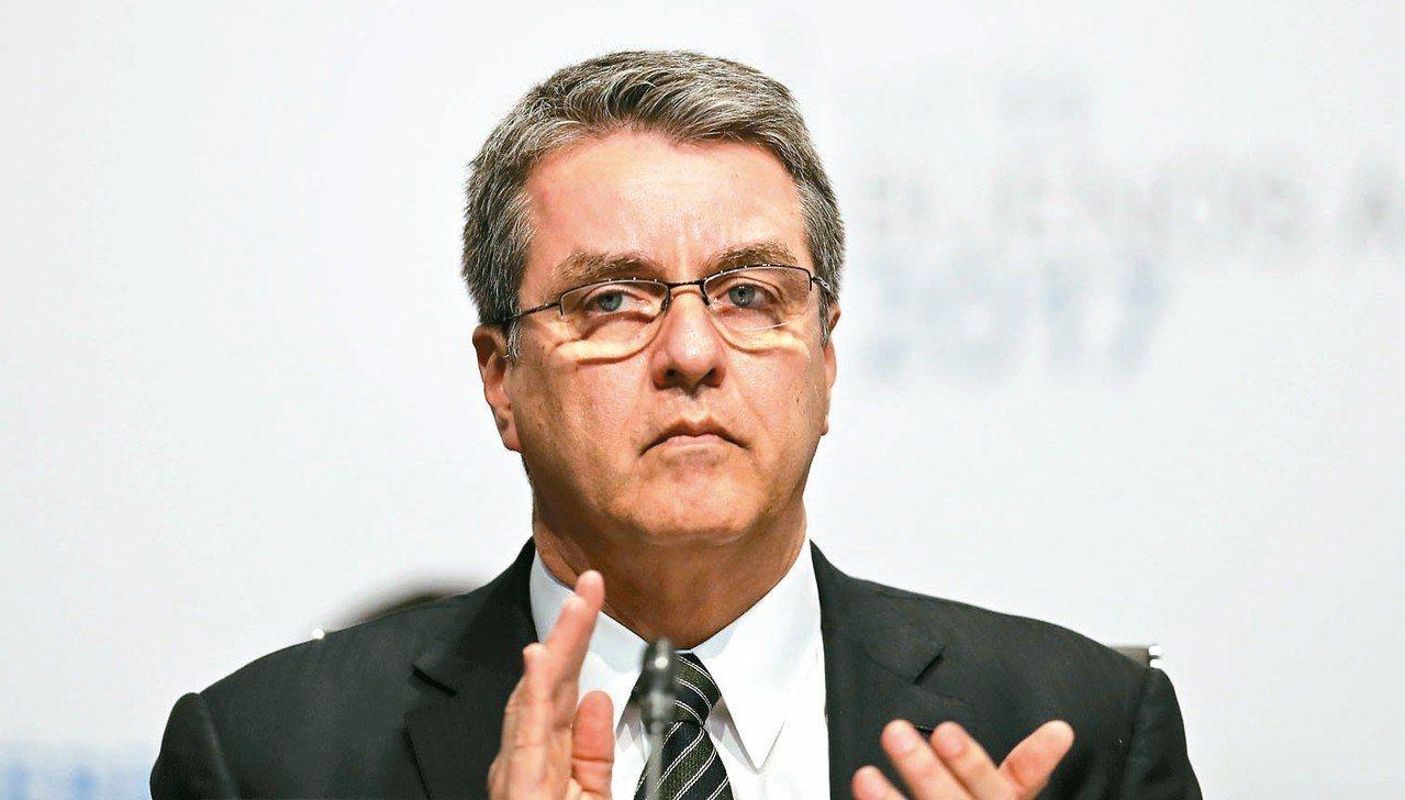 WTO 秘書長阿茲維多。 美聯社