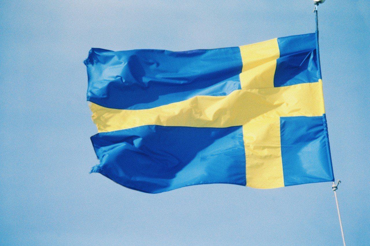 瑞典國旗。圖/ingimage