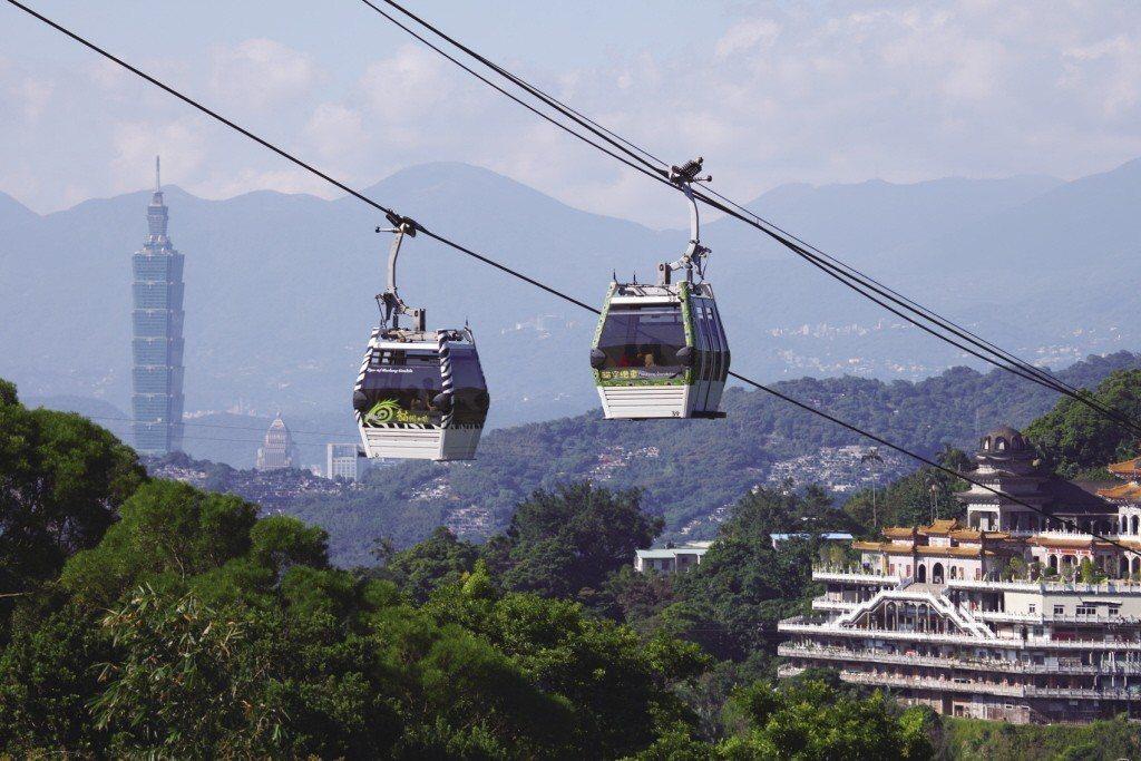 貓空纜車。 圖/台北市觀光傳播局提供