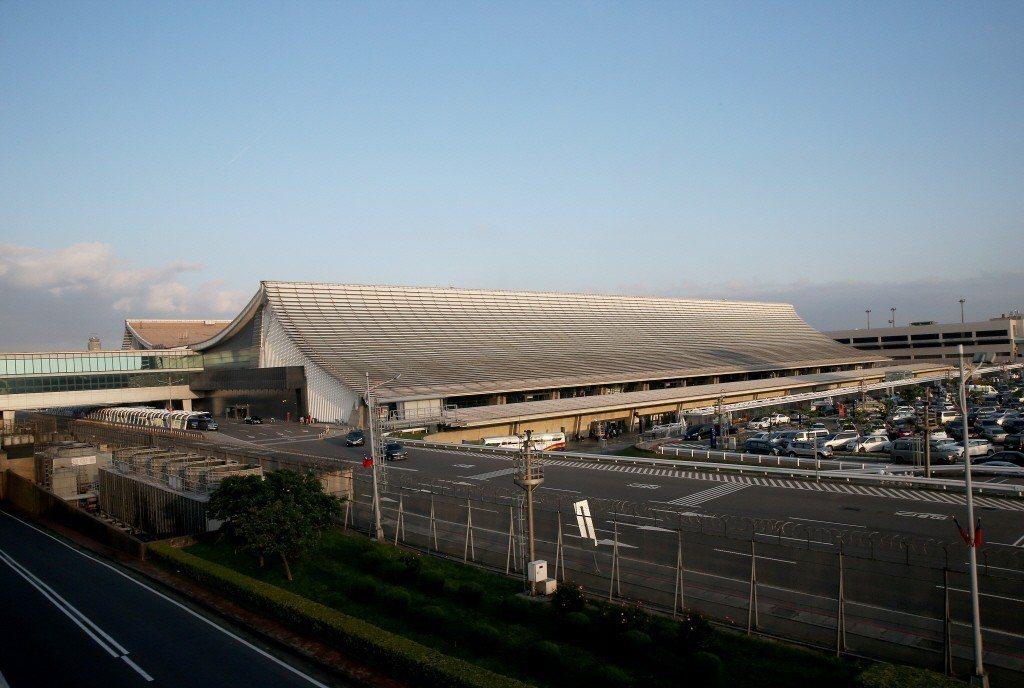 桃園機場第一航廈外觀。 圖/聯合報系資料照片
