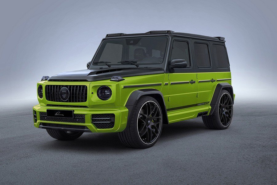 Mercedes-AMG G63 Lumma Design。 Lumma Des...
