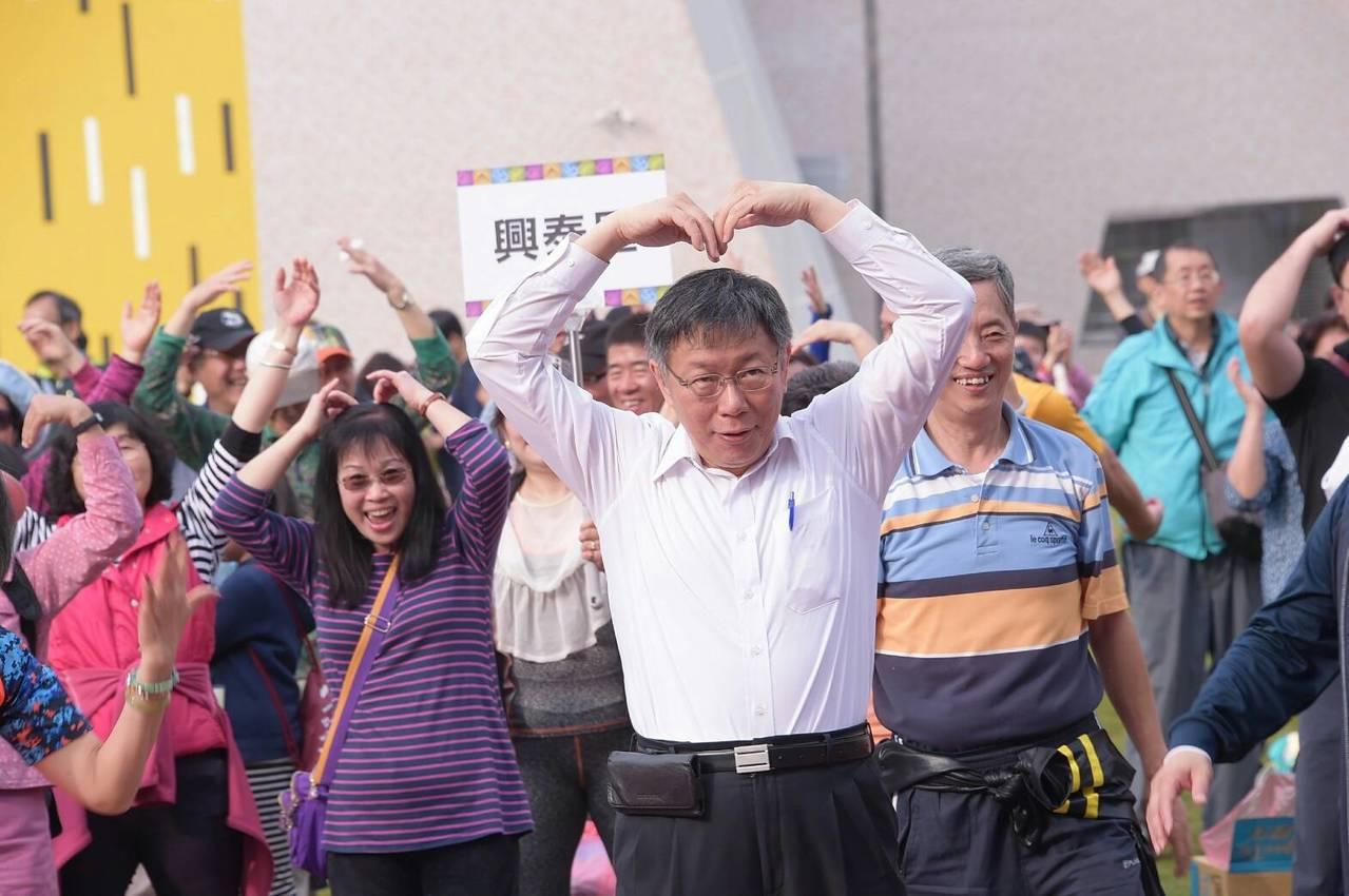 為期9天的台北燈節今晚即將畫上句點,對於今年台北燈節的整體表現,台北市長柯文哲表...