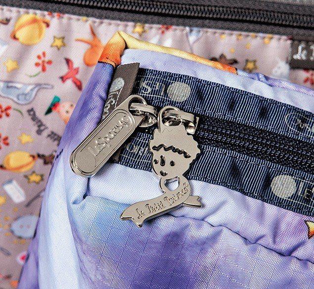 此系列特別打造的小王子拉鍊頭。圖/LeSportsac提供
