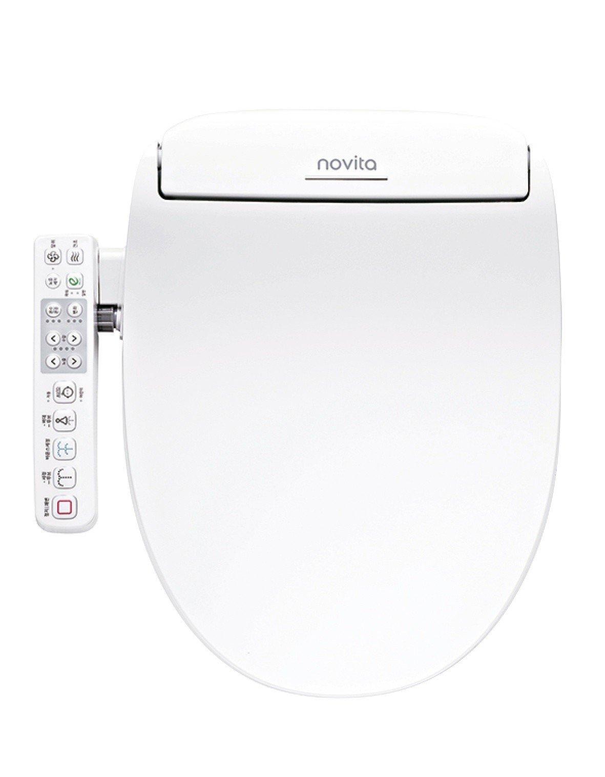 燦坤銷售人氣款NOVITA電腦馬桶座DI-500ST短型,特價17,000元。圖...