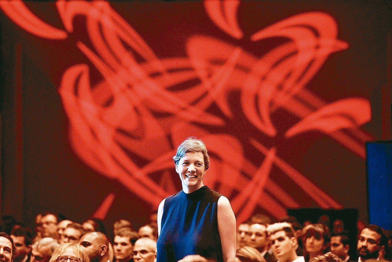 量子物理學家蜜雪爾.席蒙斯獲頒成為2018年度澳洲傑出人物。 歐新社