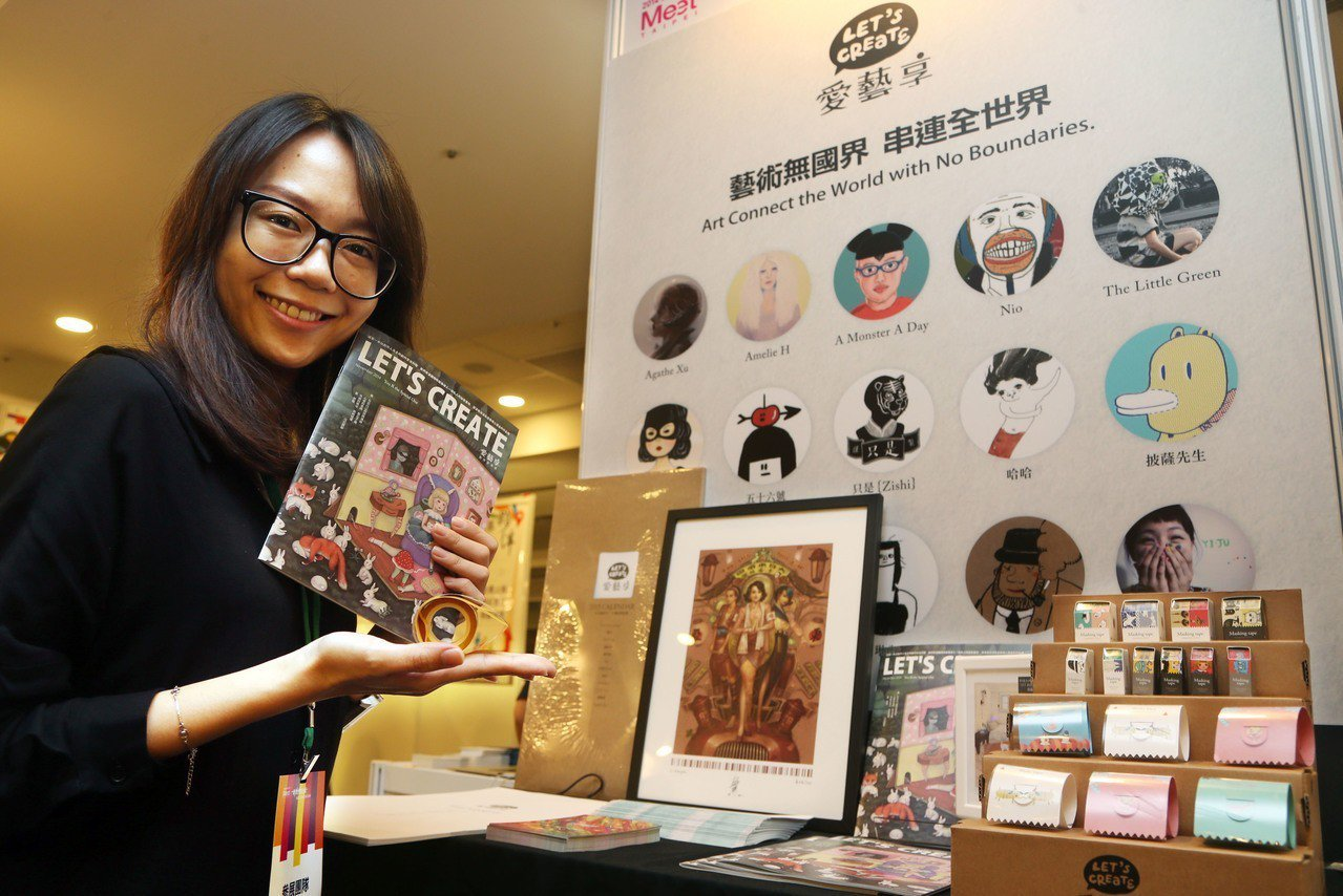 藝術經紀不只是「將藝術家作品放到網站」。 記者林俊良/攝影