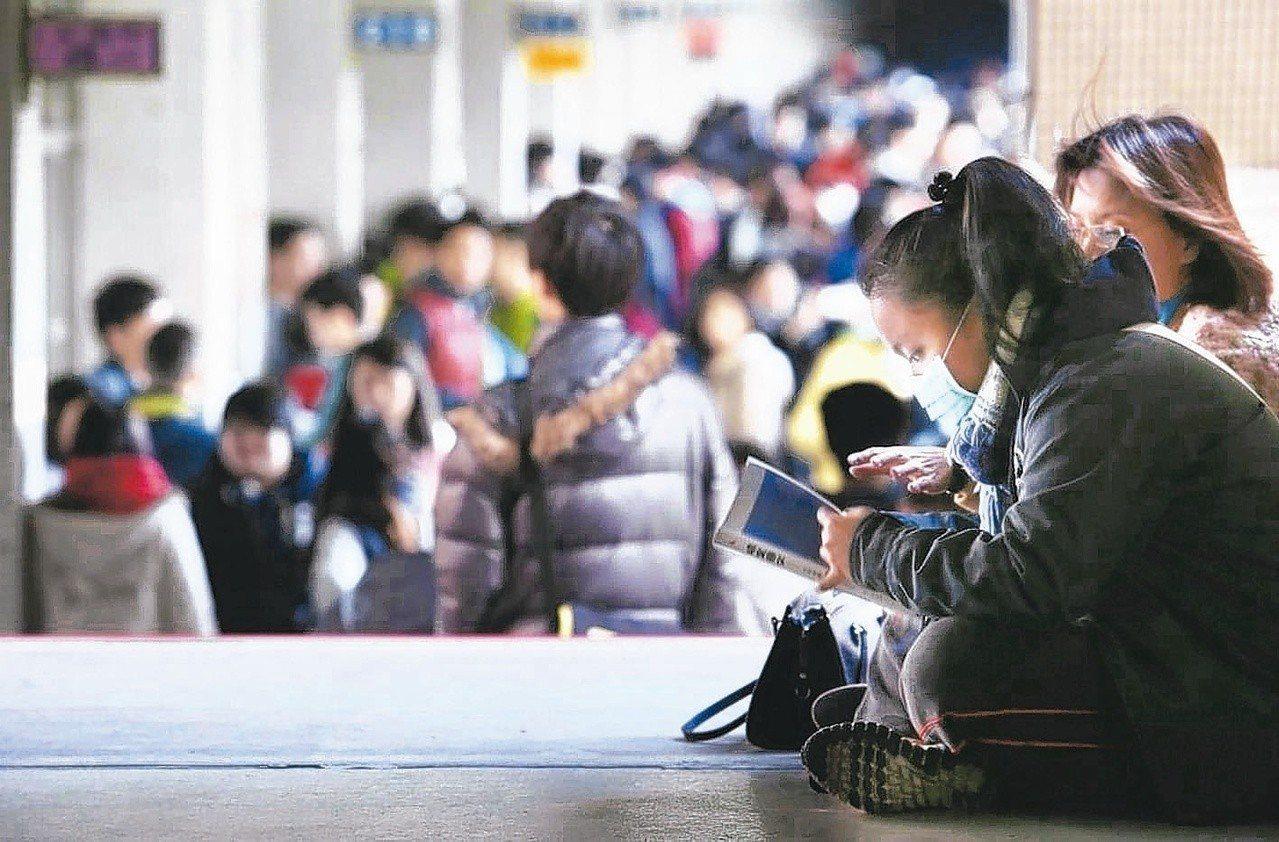 招聯會調查發現,近年來弱勢生錄取國立大學機會已和一般生不相上下。聯合報系資料照