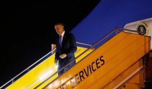 歐巴馬前年訪問越南時宣布全面解除武器禁運令。 (路透)
