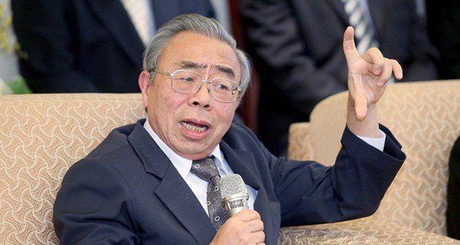 台塑集團總裁王文淵。 記者余承翰/攝影