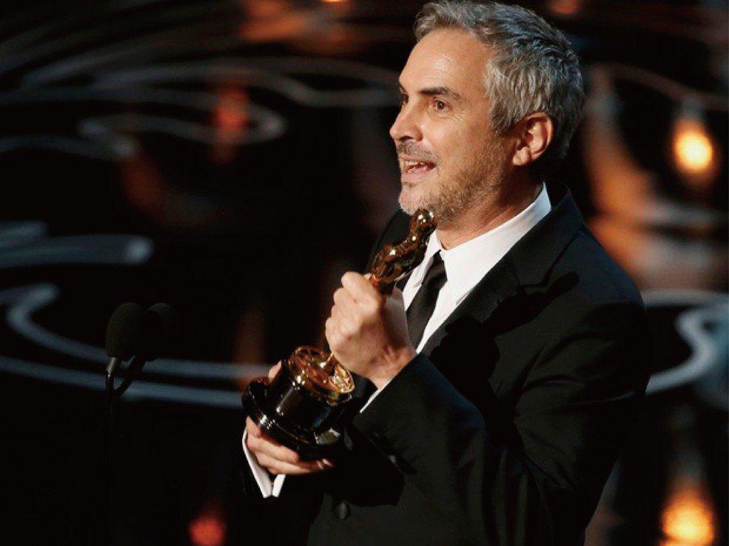 墨西哥導演艾方索卡隆2014年以《地心引力》勇奪奧斯卡最佳導演獎。路透