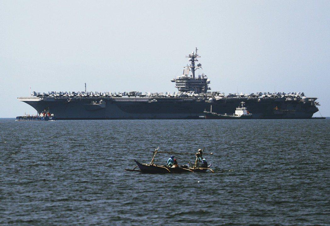 美軍重返峴港:越戰後首次,卡爾文森號航空母艦停泊越南