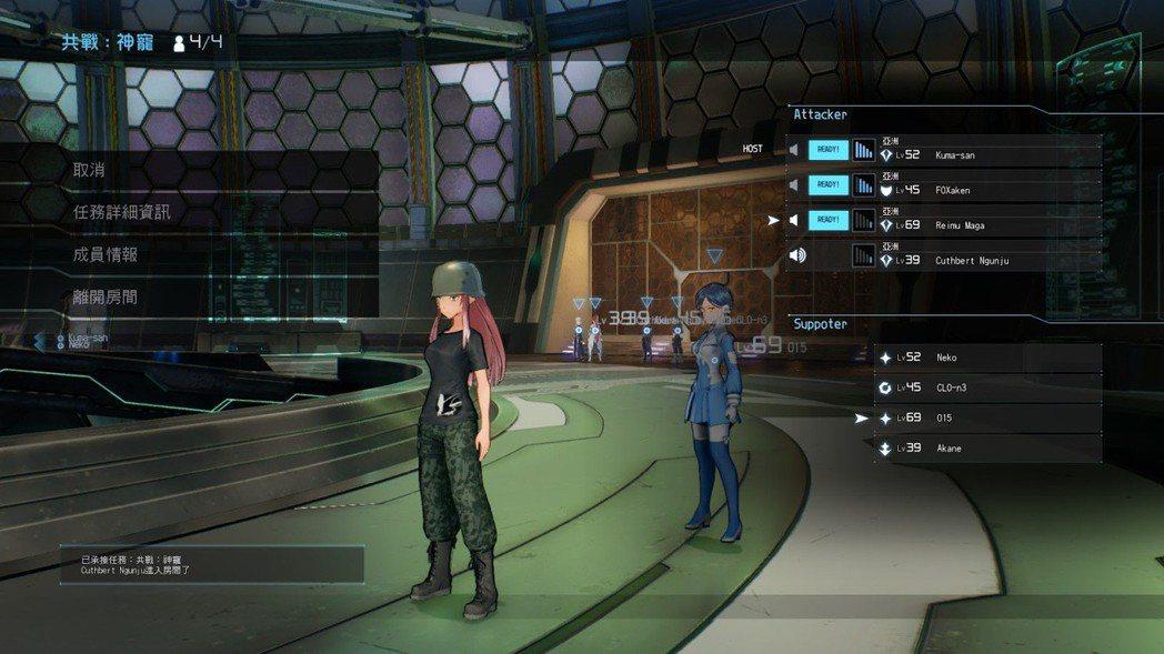 線上共鬥模式是半成品,僅能速刷 BOSS ,無法進行迷宮探索玩法。