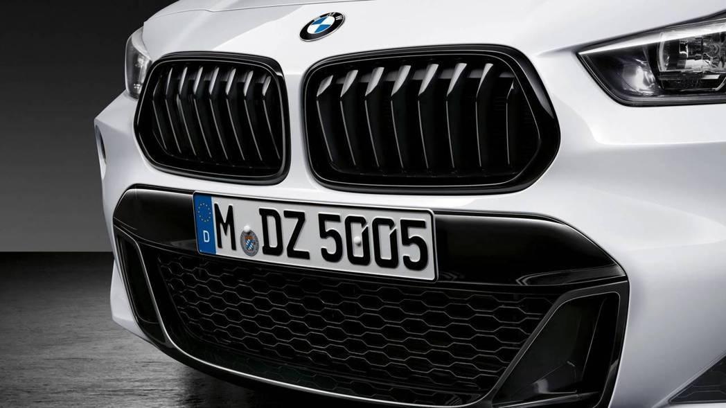 BMW X2。 摘自BMW