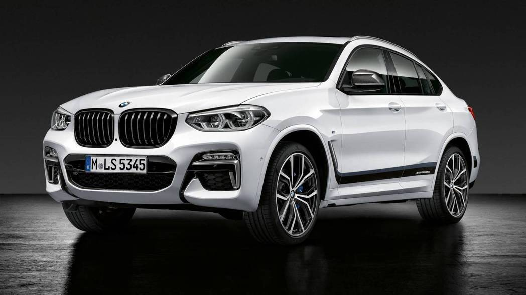 BMW X4 M Performance。 摘自BMW