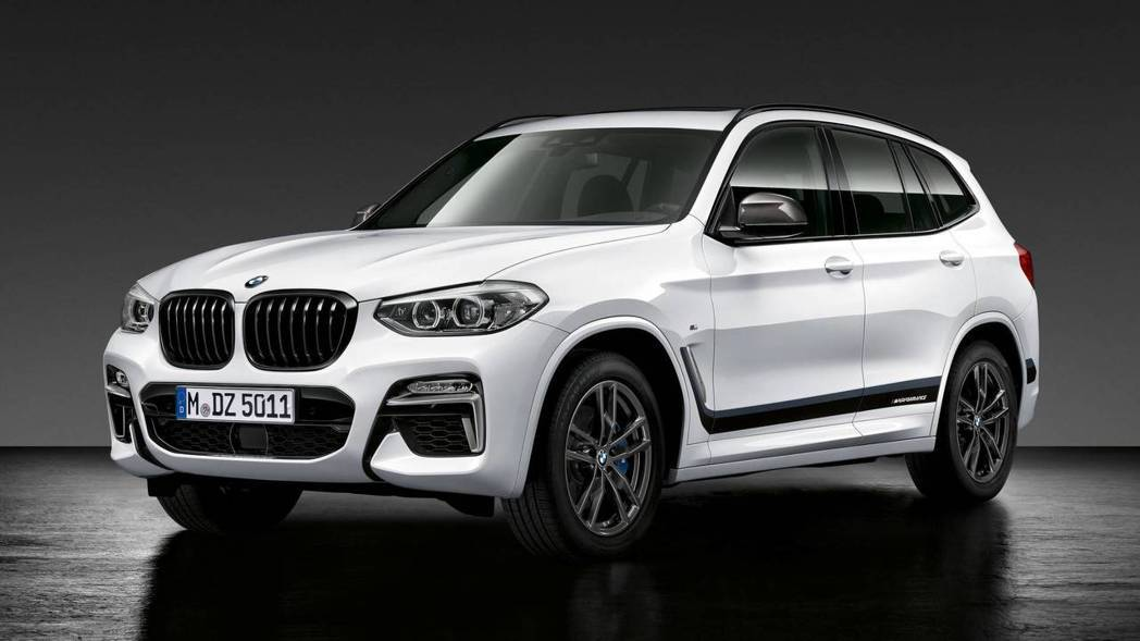 BMW X3 M Performance。 摘自BMW