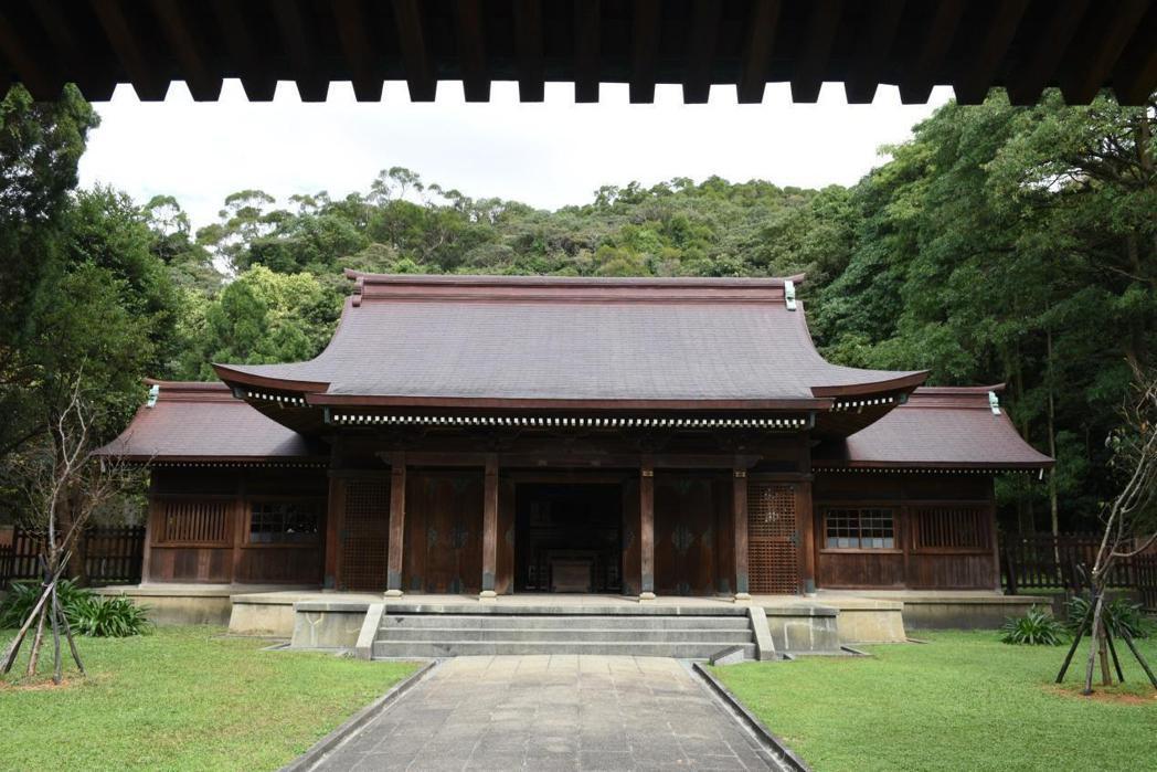 引起日本神社是否應該保存的桃園神社。 圖/作者自攝