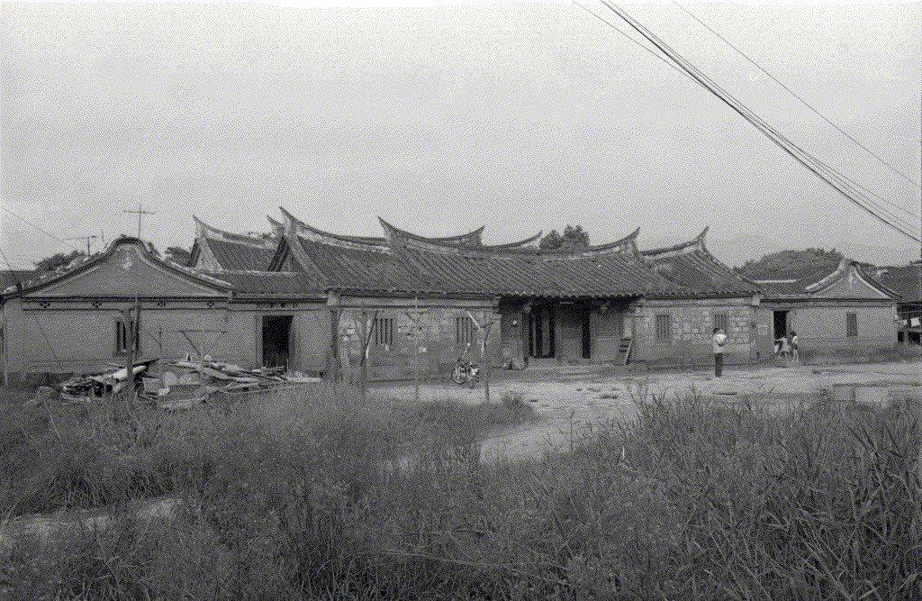 林安泰古厝。攝於1976年。 圖/聯合報系資料照