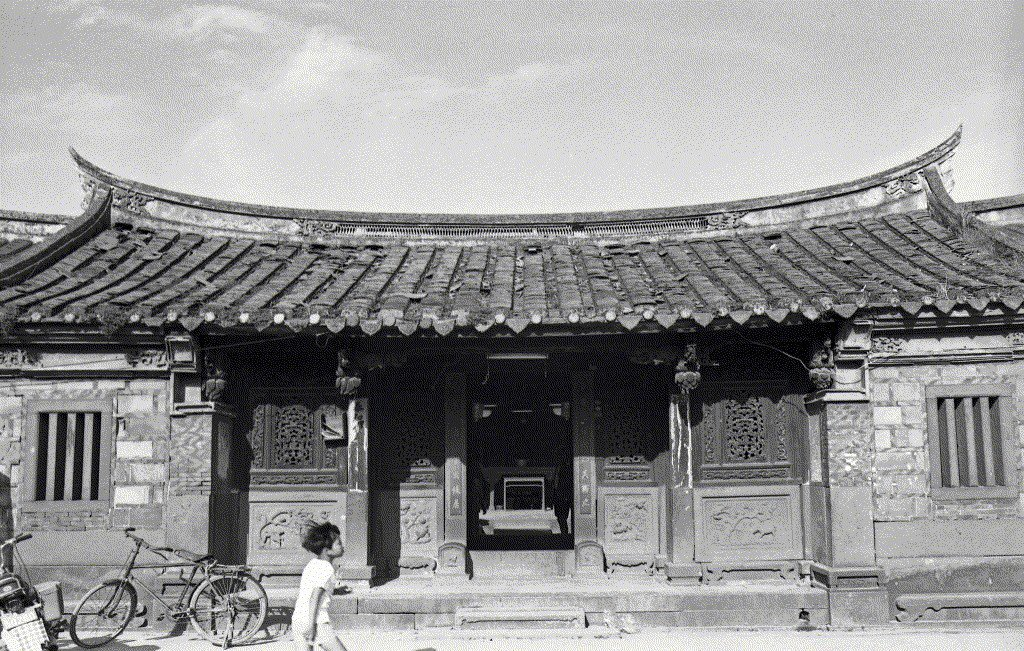 林安泰古厝,攝於1977年。 圖/聯合報系資料照