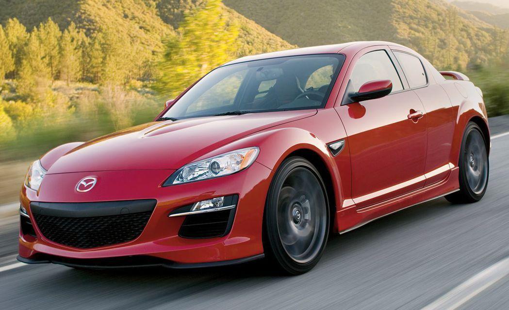 RX-8 最後一台以轉子引擎為動力來源的車子。 Mazda 提供