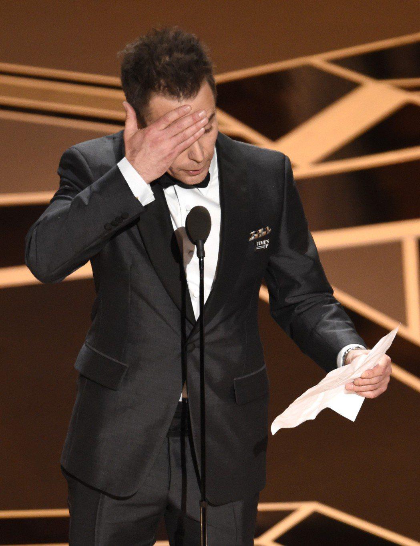 山姆洛克威爾以「意外」拿下奧斯卡獎。圖/美聯社