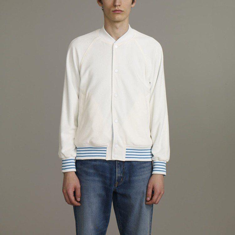 Kim Jones與GU合作系列男裝雙面外套,約1,790元。圖/GU提供