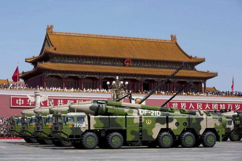 陸國防預算連兩年破兆。路透