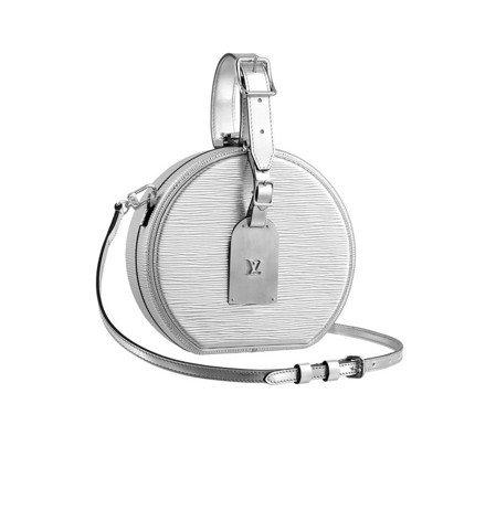 銀色迷你帽箱,14萬5,000元。圖/LV提供
